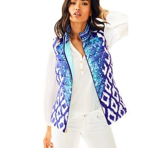 Lilly Pulitzer Puffer Vest 💙